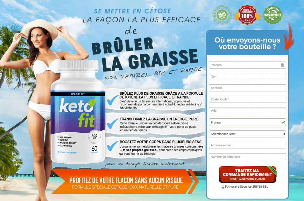 Site officiel Keto Fit France