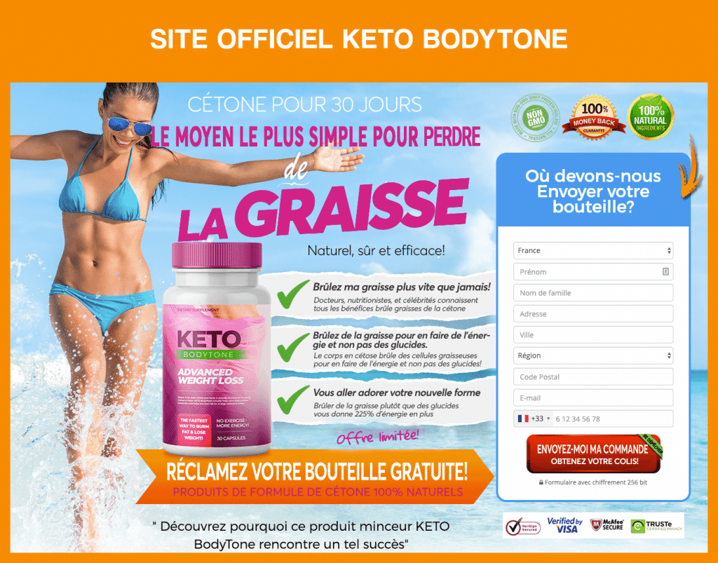 Site officiel de Keto BodyTone